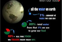 Water Water Everywhere... / Use and reuse of water, freshwater and drinking water.