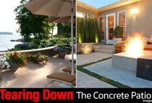 Backyard Patio Ideas / A collection of the many ideas you can use to dress up your patio.
