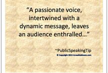Tip of the Day / Public speaking tips, thoughts and great ideas.