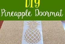 DIY: Summer Doormats