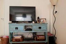 MUEBLES TV by antiguamadera / Muebles de tv