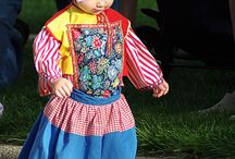 Dutch traditional costumes