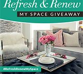 Refresh & Renew My Space Giveaway