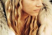 Viking hair