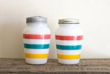 Vintage salt shakers