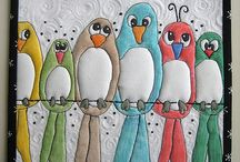 Farge og maling på quilts