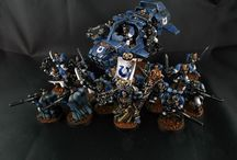 Showcase Ultramarines / Painted Space Marines from the Ultramarines Chapter