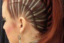 peinados y trenzas