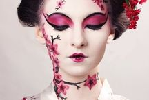 Geisha make up