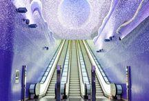 Most Beautiful Metro Station Around The World