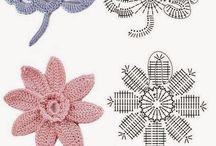 clases de flores de crochet