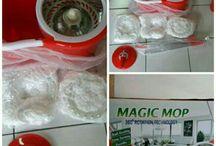magic mop/alat pel otomatis