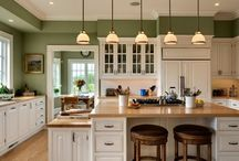 Kitchens / by Amanda Anderson