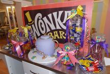 Wonka Party  / I had already thought of doing quotes, but I want mine on scrolls.  / by Jessica Sanders