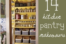 Kitchen & Pantry - Organized | ESSOME / Food brings the family together, so at least make the space appealing!  / by Essome Organizing