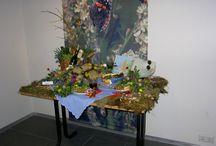 bloemschikken / bloemschikken bij Groei & Bloei Almere