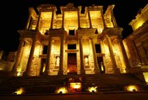 Ancient City of Ephesus at Night - Welcome to Selcuk, Ephesus, Turkey / Visit the Ancient City of Ephesus at Night