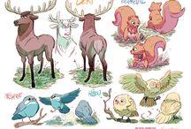 Character design/Animals