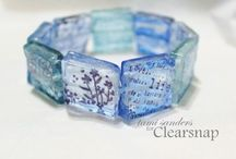 stamped jewelry by tami sanders * paper crafter / inky jewelry designed by tami sanders * paper crafter... www.tamisanders.com