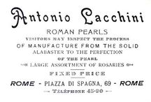 Roman Pearls or Faux Pearls