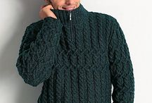 Knitted sewaters for men