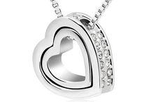 Austrian Crystal Heart Necklace(Save $10)