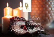 AUGURI E BUONE FESTE! / Siamo a un passo dal Natale...desideriamo augurare a tutti voi e alle vostre famiglie tanta serenità e il desiderio di realizzare i vostri sogni! O Natal está aí! Desejamos a todos vós e a cada família um sereno Natal que exprima e realize todos os vossos sonhos! We are on the verge of Christmas ... we want to wish you all and your families serenity and the desire to fulfill your best dreams!