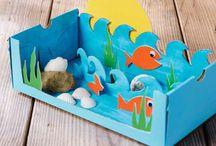 Summer kid crafts