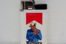 vintage cigarette lighters / by Catharyn Tivy