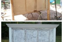 Headboard ideas / by Tara Jendzio