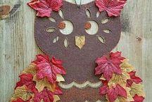 bagoly őszi leveles