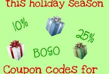 Coupon Codes / by Lucille Hall