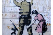 Banksy Prints / Here's a collection of Banksy graffiti prints we have available as a poster, print, Tshirt, mug, magnet, bag, mouse mat, postcard, greetings card, tea towel, iPad cover and phone sock!