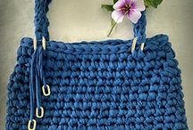 Free crochet and Knitting patterns Bags Purses and Totes / Free Crochet and Knitting Patterns for Bags, Market bag, produce bag, totes, Purses, handbags, pouches and Tote bags, etc.