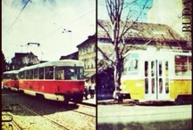 Trams, Trains & Trabants / Beautiful public transport and clapped out old automobiles from around the world...