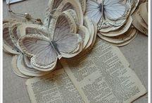papillons papiers