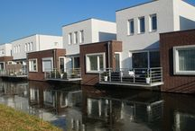 A | Living upon the water / Housing related to water