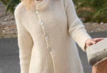 black knit jacket buttons