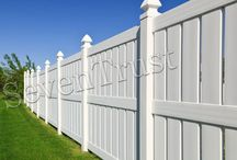 durable PVC Fence / PVC fences require little maintenance, are durable and can last for many years. PVC fencing is available in a variety of styles and colors, with white being the most popular choice.
