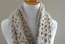 Crocheting scarves