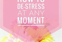 Calming down, Stress free, De - stress