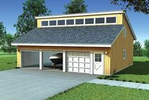 Garage Plans with Multiple Sizes / Detached Garage Plans Available in Multiple Sizes