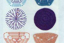 carpetas tejidas patrones