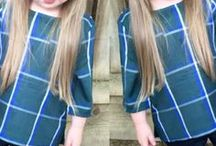 Sevimli saç modelleri