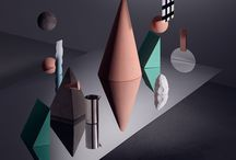 Geometric / Beautiful, simple geometric forms