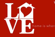 Home Is Where The Heart Is – Valentine's Day Décor / Valentine's Day Home Décor / by West Coast Escrow