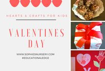 Valentine's Day Activities & Crafts / A range of Valentine's Day ideas, activities and crafts for children!! Hearts, love and chocolate :D