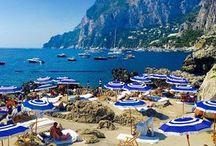 Positano-Amalfi-Capri-Mykonos-Santorini- Summer 2017 Trip
