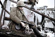 Bataille de Stalingrad / Image d'archive de la sanglante bataille de Stalingrad