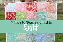 Quilt kids sewing